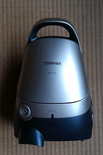 家庭用掃除機 東芝クリーナー VC-PJ7Aを購入しました
